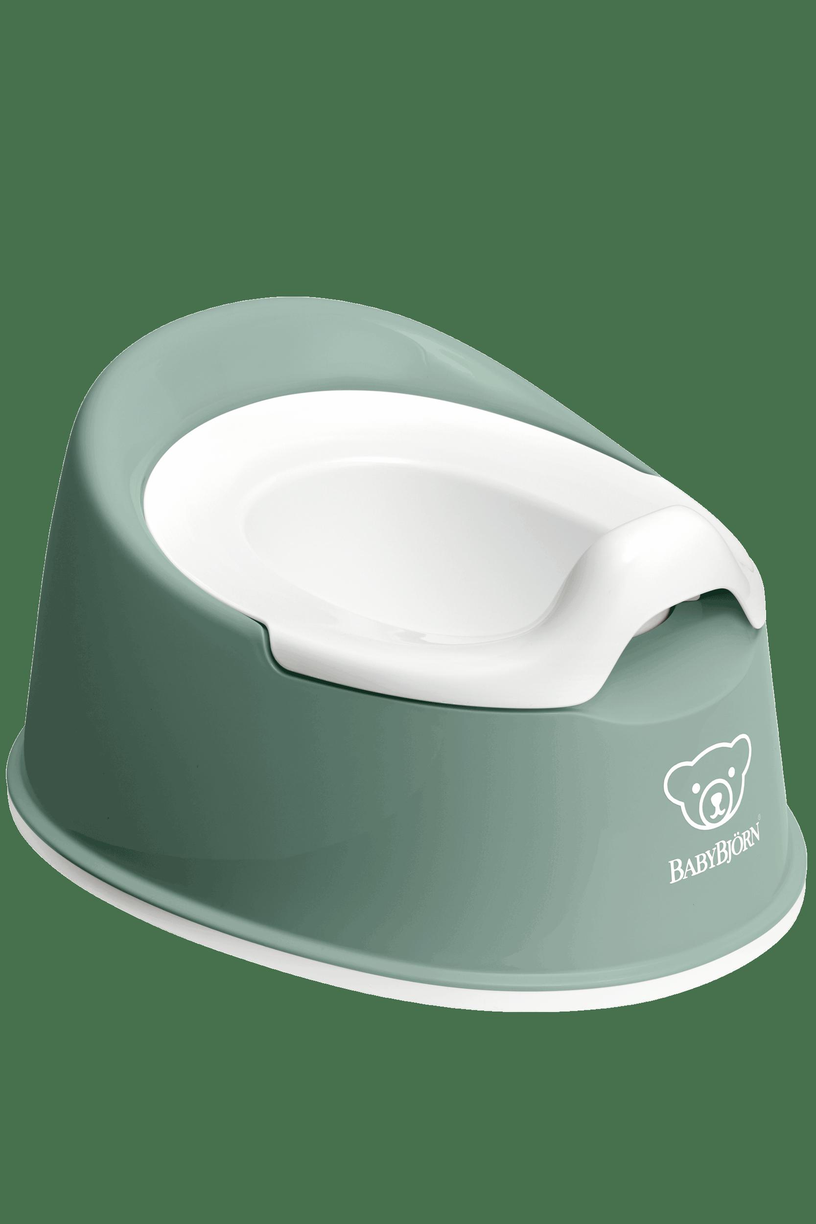 BABYBJÖRN Cleveres Töpfchen - Graugrün/Weiß
