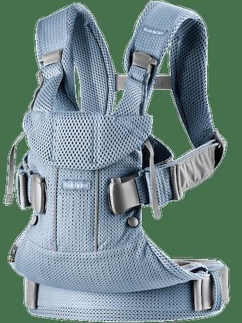 Marsupio One Air Blu Ardesia 3D Mesh - BABYBJÖRN