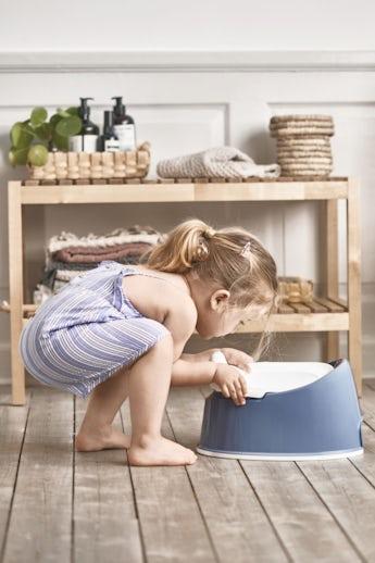 Pot Smart Bleu Profond Blanc - BABYBJÖRN