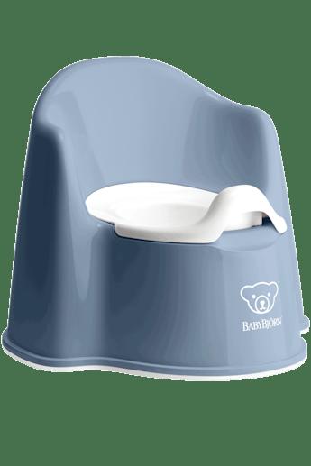 Potty Chair Deep Blue White - BABYBJÖRN