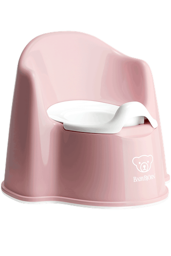 Potty Chair Powder Pink/White - BABYBJÖRN