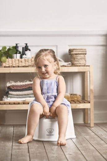 Potty Chair White Grey - BABYBJÖRN