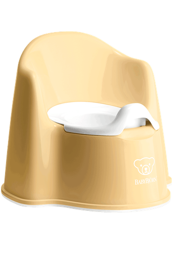 Potty Chair Powder Yellow White - BABYBJÖRN