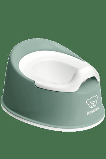 Smart Potta Grågrön/Vit - BABYBJÖRN