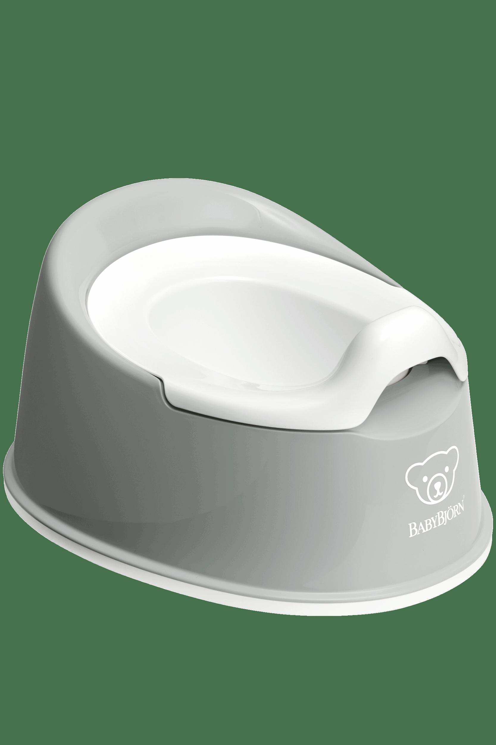 White//Black Baby Bjorn Toilet Trainer