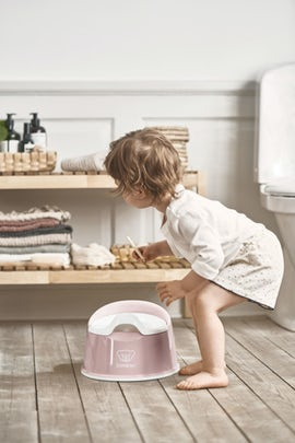 Smart Potty Powder Pink White - BABYBJÖRN