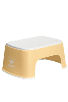 Step Stool Powder Yellow/White - BABYBJÖRN