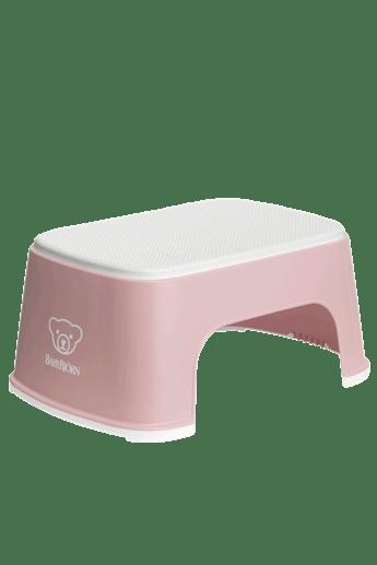 Taburete Para Ninos Rosa Pastel Blanco - BABYBJÖRN