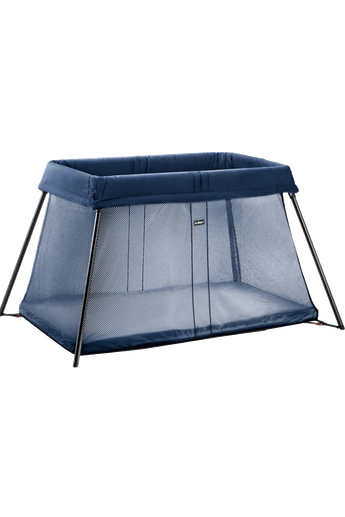 Travel Cot Light Dark Blue - BABYBJÖRN