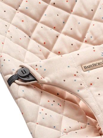 Asiento de tela adicional para Hamaca Bliss Rosa Moteado Cotton - BABYBJÖRN