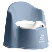 Potty Chair in deep Blue white - BABYBJÖRN