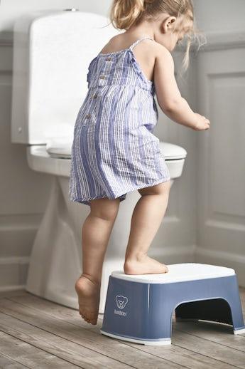 Sgabello per Bambini Blu Oltremere Bianco - BABYBJÖRN