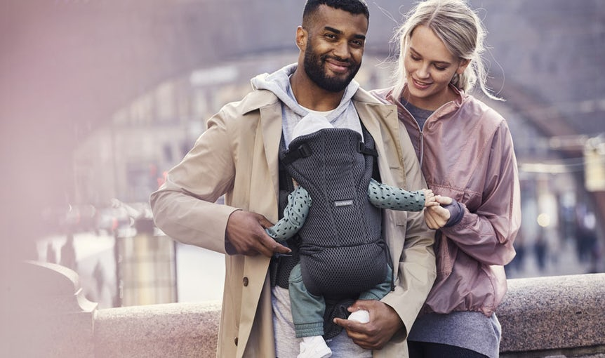 Baby Carrier Move Anthracite in 3D Mesh - BABYBJÖRN