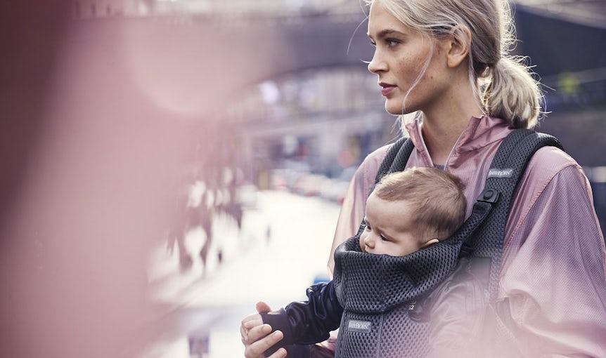 Babytrage Move Antrazitgrau in 3D Mesh - BABYBJÖRN