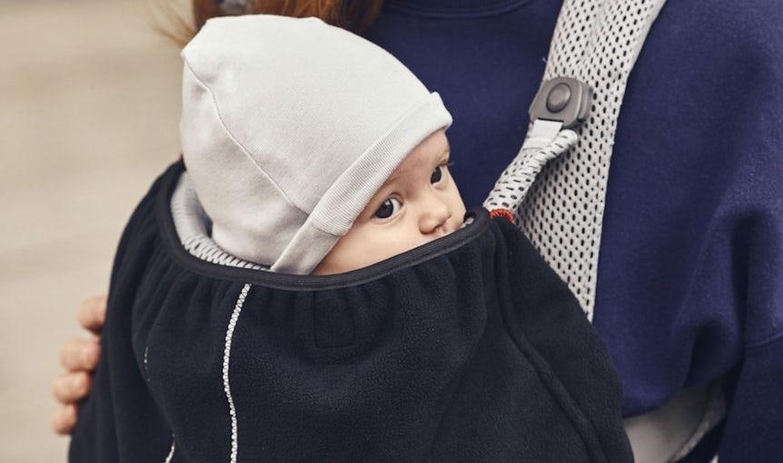 Cape pour porte-bébé