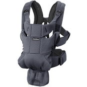 Baby Carrier Move Anthracite Grey in soft and airy 3D Mesh - BABYBJÖRN