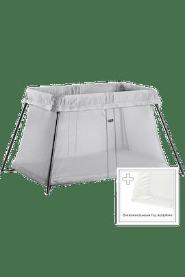 Resesäng Silver Paketpris med Lakan - BABYBJÖRN