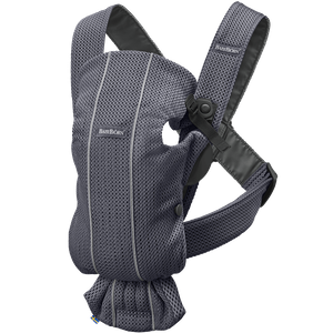 Baby Carrier Mini Anthracite 3D Mesh - BABYBJÖRN