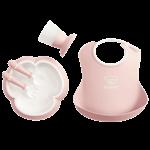 Baby Dinner Set Powder Pink - BABYBJÖRN