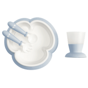 Baby Feeding Set Powder Blue - BABYBJÖRN