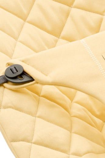 Asiento de tela para Hamaca Bliss Amarillo Claro Cotton - BABYBJÖRN