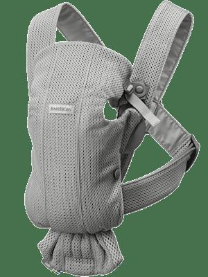 Baby Carrier Mini Grey in 3D Mesh - BABYBJÖRN