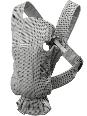 Baby Carrier Mini Grey in 3D Mesh - BABYBJÖRN
