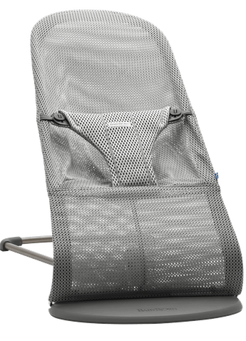 Bouncer Bliss Grey in soft and airy Mesh - BABYBJÖRN