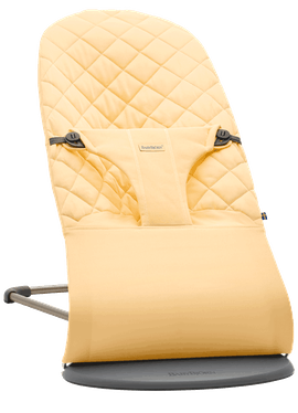 Bouncer Bliss Light yellow in Cotton - BABYBJÖRN