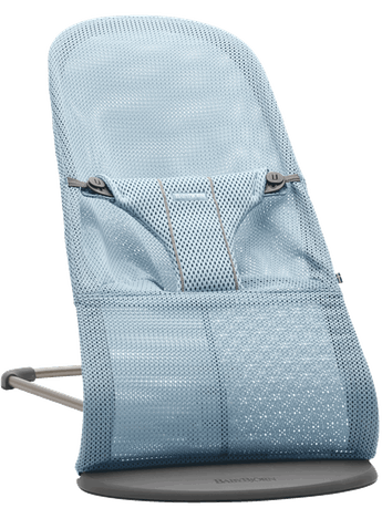 Bouncer Bliss Sky blue in Mesh - BABYBJÖRN
