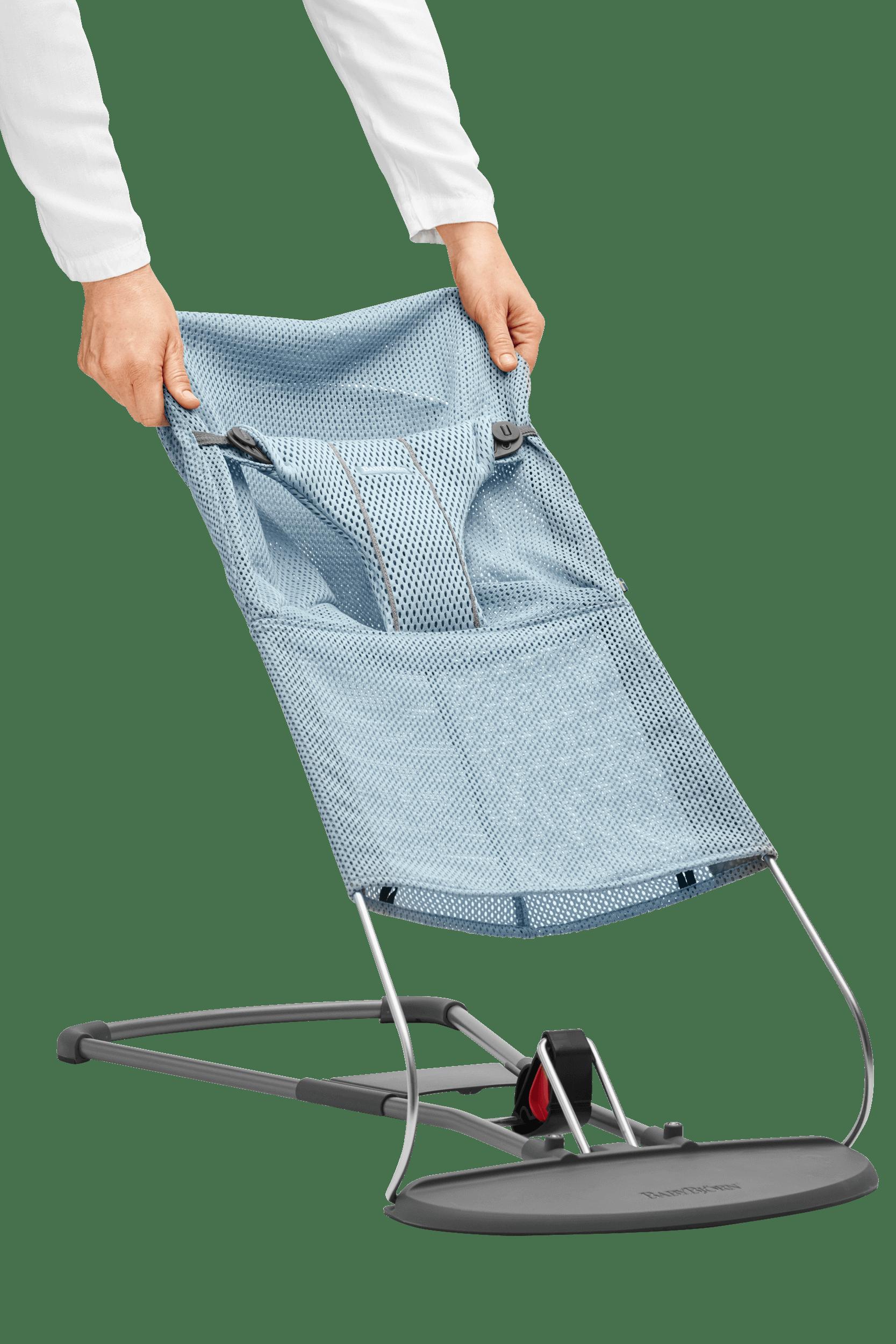 BABYBJÖRN Extra Tygsits till Babysitter Bliss - Himmelsblå, Mesh
