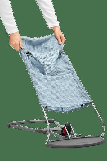 Extra tygsits för Babysitter Bliss i Himmelsblå Mesh - BABYBJÖRN