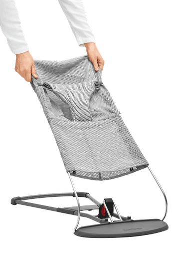 Fabric Seat for Bouncer Bliss Grey in Mesh - BABYBJÖRN