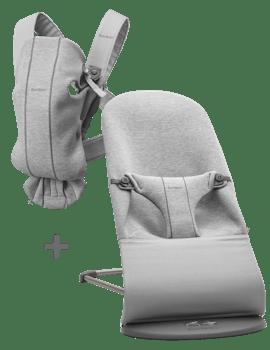 Basic startkit för nyfödda i mjuk 3D Jersey - BABYBJÖRN