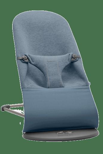 Transat Bliss Bleu Chiné en Jersey 3D - BABYBJÖRN