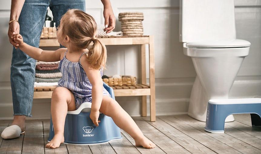 Smart potty and step stool - BABYBJÖRN