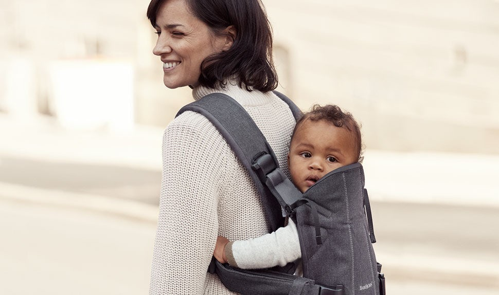 Baby Carrier One with four carrying positions - BABYBJÖRN