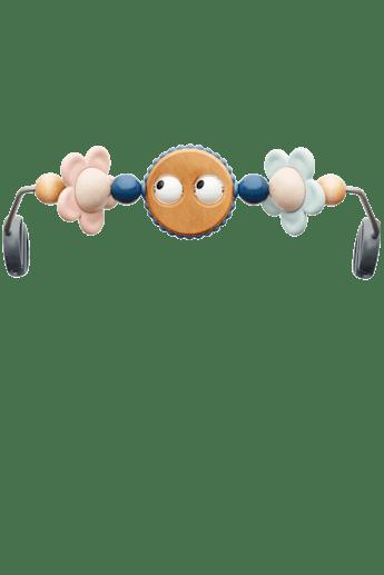 Spielzeug für Babywippe Fröhliche Augen in Pastellfarben - BABYBJÖRN