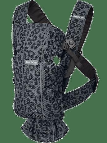 Mochila Porta Bébé Mini Antracita/Leopardo 3D Mesh - BABYBJÖRN