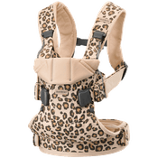 Mochila Porta-bébé One Leopard Cotton
