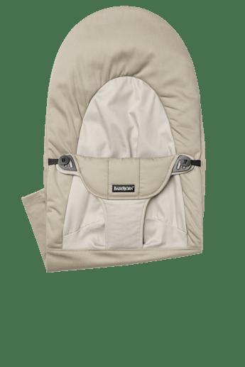 Zusatzlicher Stoffsitz fur die Babywippe Balance Soft Khaki Beige - BABYBJÖRN