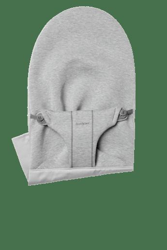 Zusätzlicher Stoffsitz für Babywippe Bliss in Hellgrau 3D Jersey - BABYBJÖRN