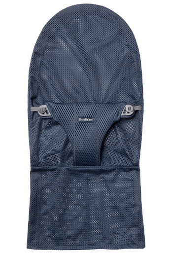 Extra Fabric Seat for Bouncer Bliss in Navy Blue soft and airy Mesh - BABYBJÖRN