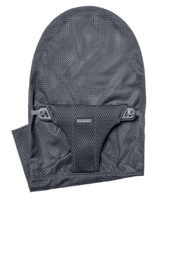 Extra Fabric Seat for Bouncer Bliss in Anthracite soft and airy Mesh - BABYBJÖRN