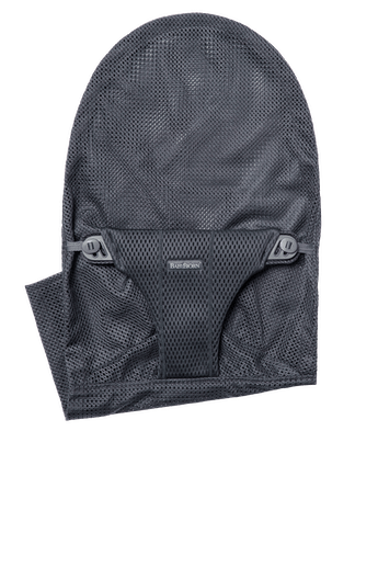 Fabric Seat for bouncer Bliss in Anthracite soft and airy mesh - BABYBJÖRN