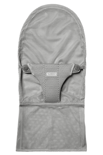 Extra Fabric Seat for Bouncer Bliss in Grey soft and airy Mesh - BABYBJÖRN