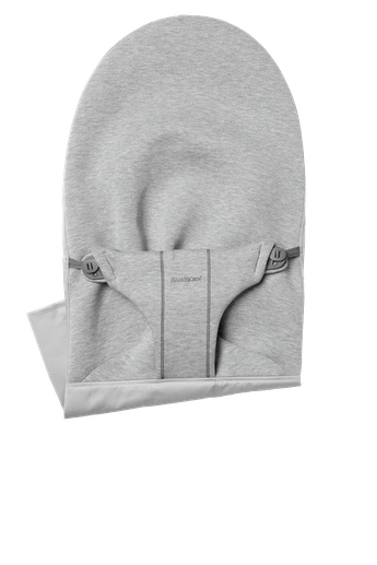 Fabric Seat for bouncer Bliss in Light grey supersoft 3D Jersey - BABYBJÖRN
