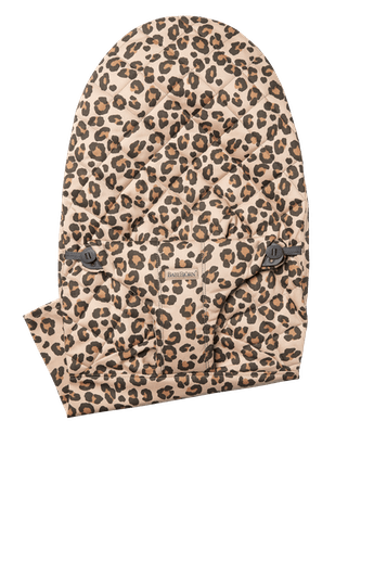 Fabric Seat for bouncer Bliss in Leopard print soft quilted cotton - BABYBJÖRN