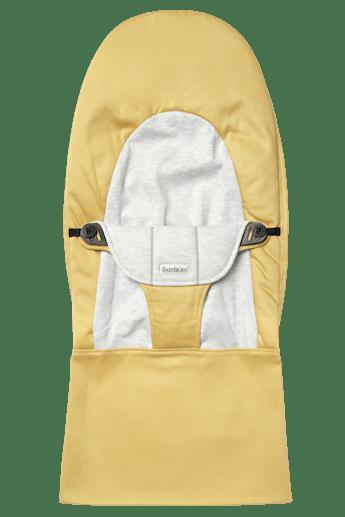 Housse pour Transat Balance Soft Jaune Gris Cotton Jersey - BABYBJÖRN