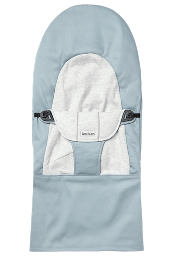 Extra tygsits Balance Soft i Blå/Grå mjuk cotton jersey